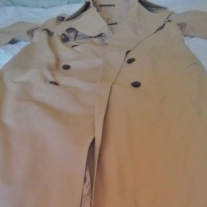 Vintage 'Etienne Aigner Tan Duck Raincoat Classic